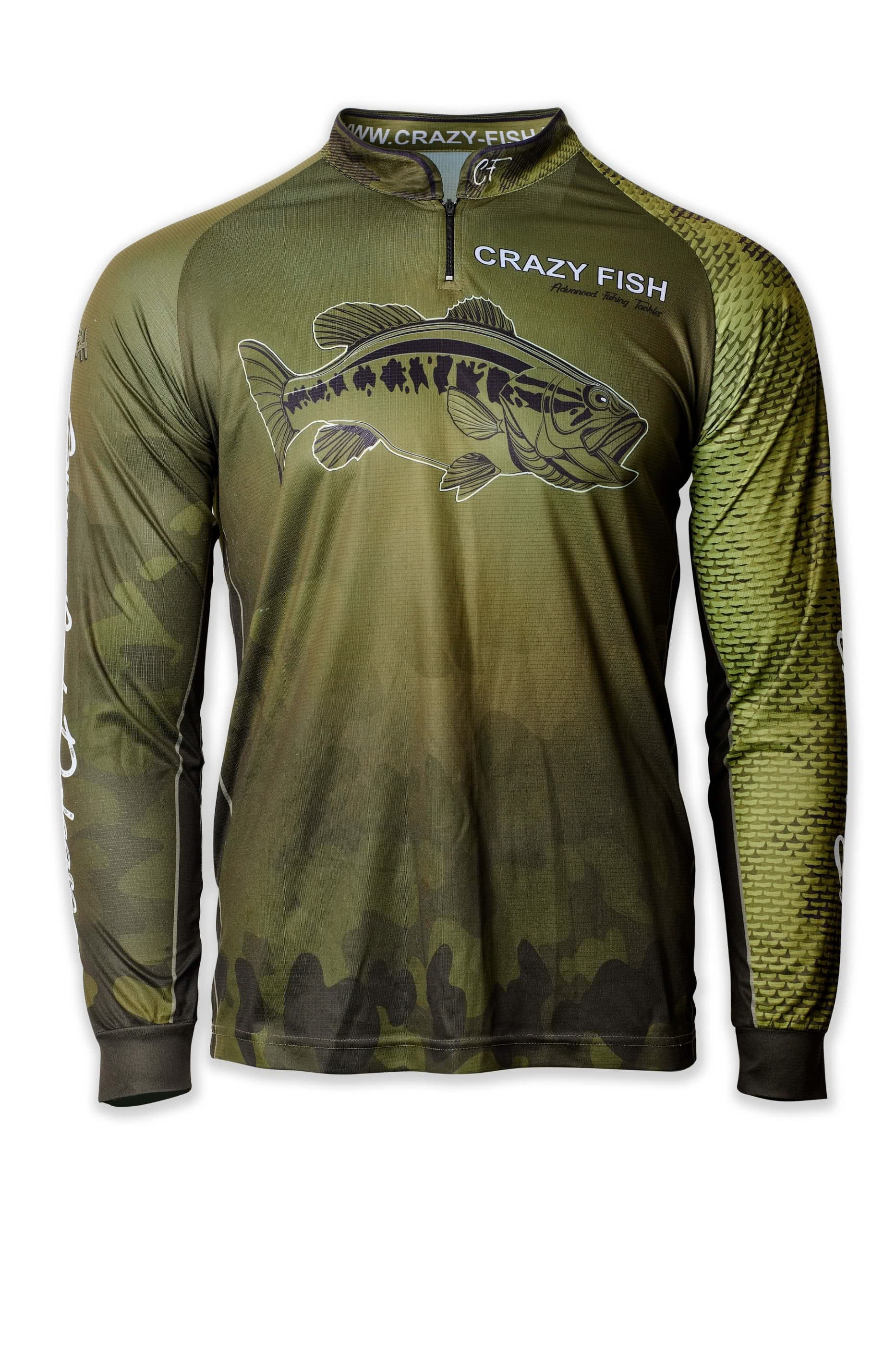 CRAZY FISH Camo Fish Scale 2XL для рыбака и рыбалки