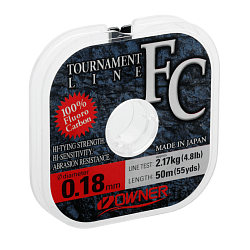Флюорокарбон Owner Tournament FC 0,31мм