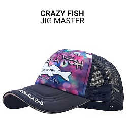 Кепка Crazy Fish Jig Master M для рыбака и рыбалки